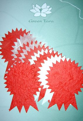 Prize Ribbons, Red