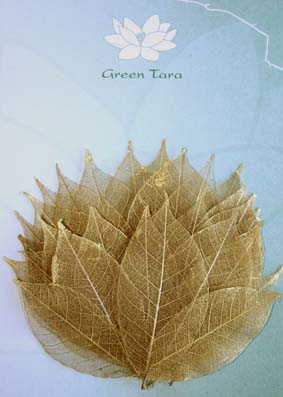 30 Gold Rubber Tree Leaves