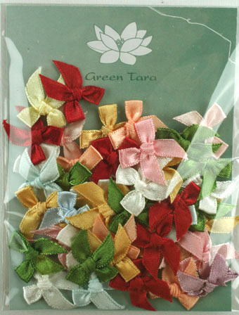 Pack of assorted 2cm Bows.