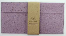 DL Envelope Pineapple Paper Lavender