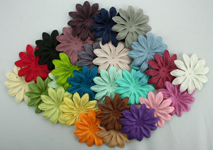 Entire range of 7cm Petals 49 colours