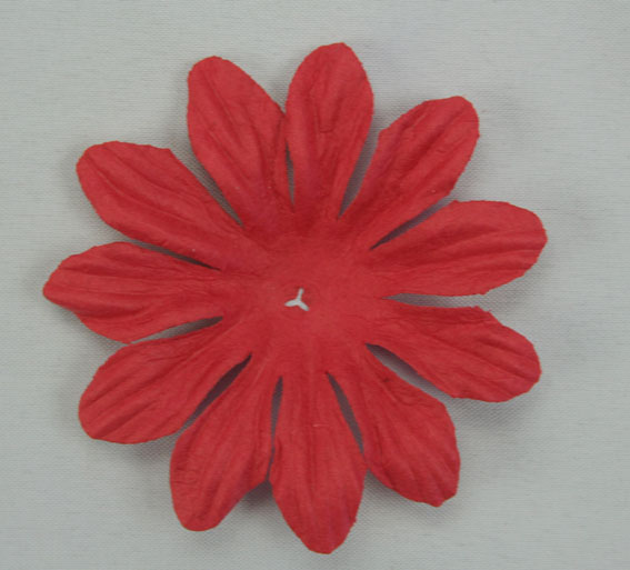6cm Petals, Fire Engine Red