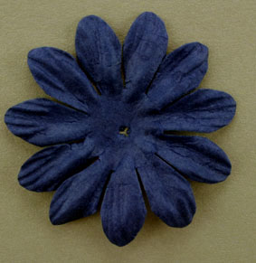 6cm Petals, Midnight Blue