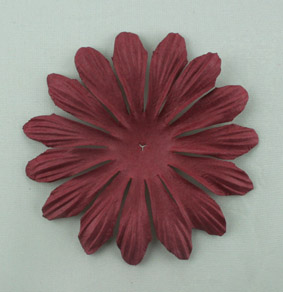 10cm petals. Burgundy Pack of 25.