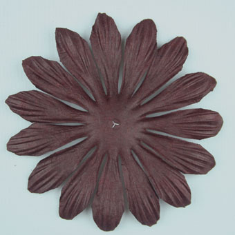 10cm petals. Dark Chocolate Pack of 25.