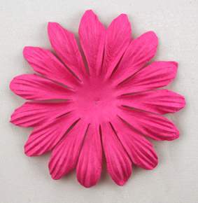 10cm petals. Hot Pink Pack of 25.