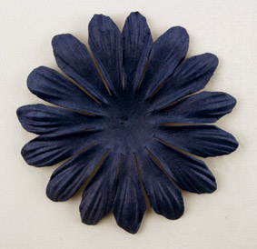 10cm petals. Midnight Blue Pack of 25.