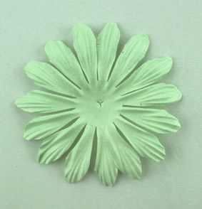 10cm petals. Mint Pack of 25.