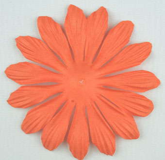 10cm petals. Orange Pack of 25.