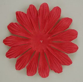 10cm petals. Red Pack of 25.