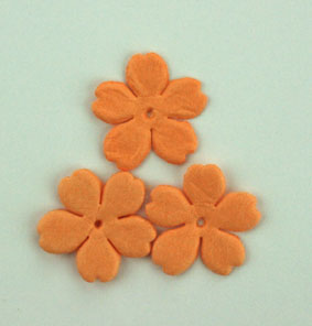 100 Petals 1.75cm  Pale Orange
