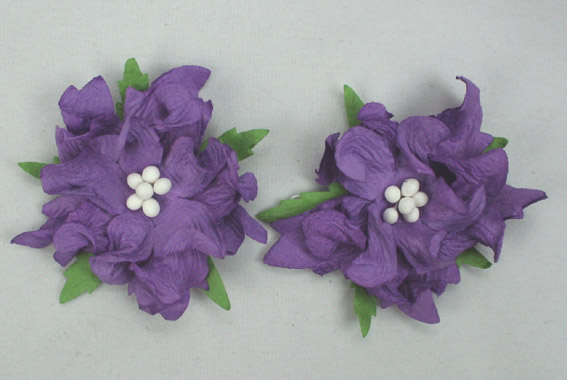 50 3 Layer Gardenia Purple