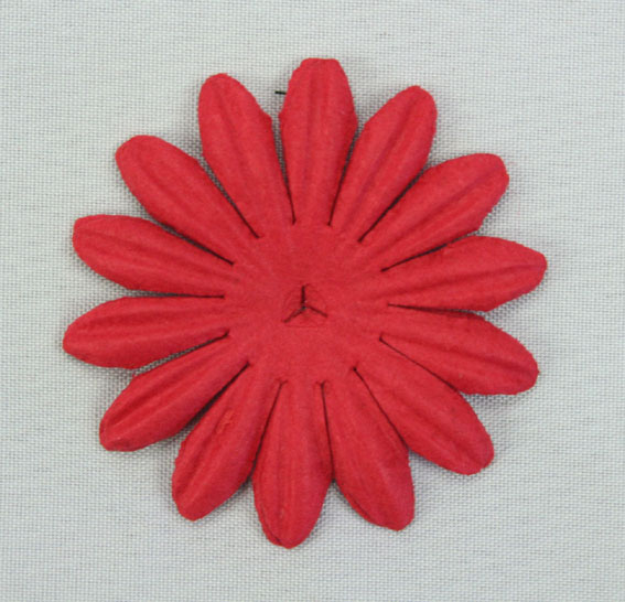 4cm Petals, Fire Engine Red