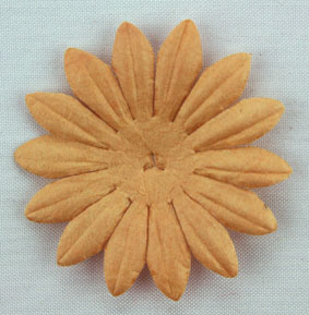 4cm Petals, Light Brown.