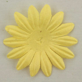 4cm Petals, Soft Yellow