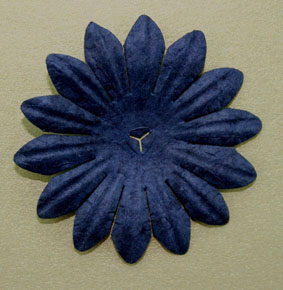 5cm Petals, Midnight Blue