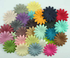 Entire range of 5cm Petals 49 colours