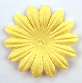 5cm Petals, Soft Yellow