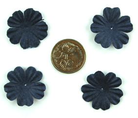 100 Petals 2.5cm Midnight Blue