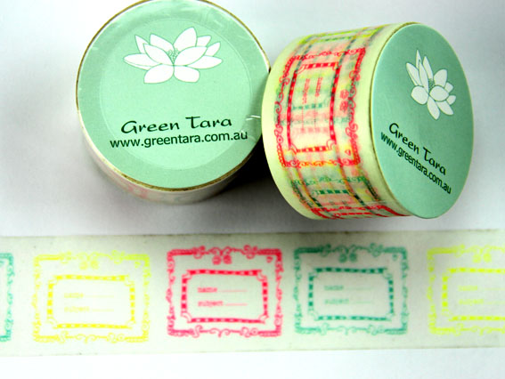 Washi Tape 30mm x 10m roll Certificates