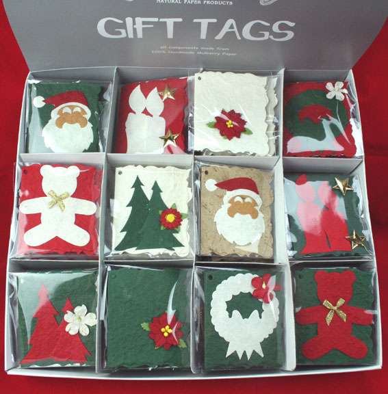 Christmas Gift Tag Box