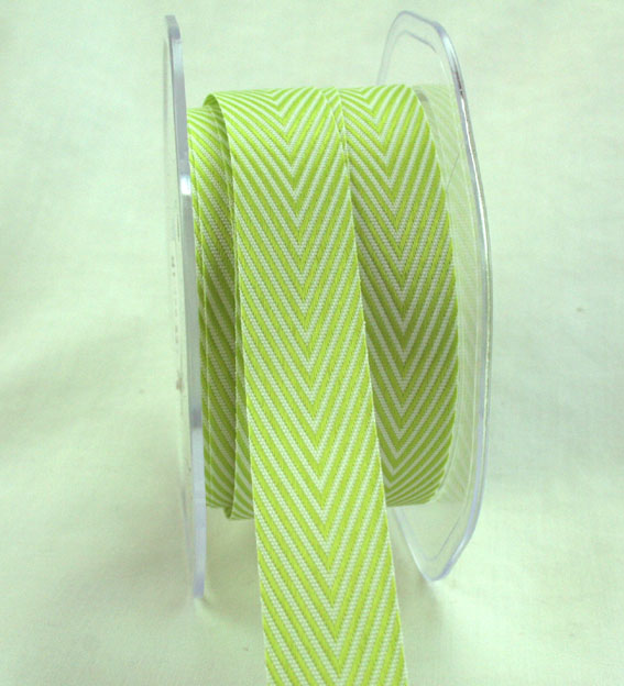20mm Herringbone Lime 20m roll