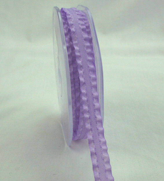 10mm Satin Frill Lavender 10m roll