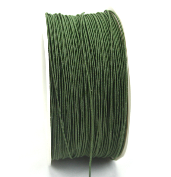 1mm Wire Cord 100m Roll Green