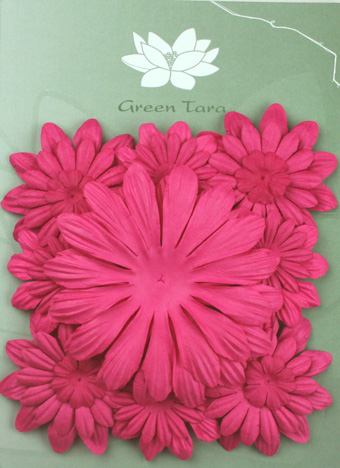 Pack of 22 mixed petals, Hot Pink