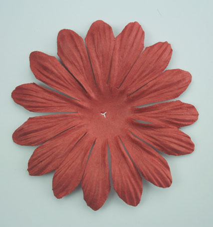 10cm petals. Rust Pack of 25.