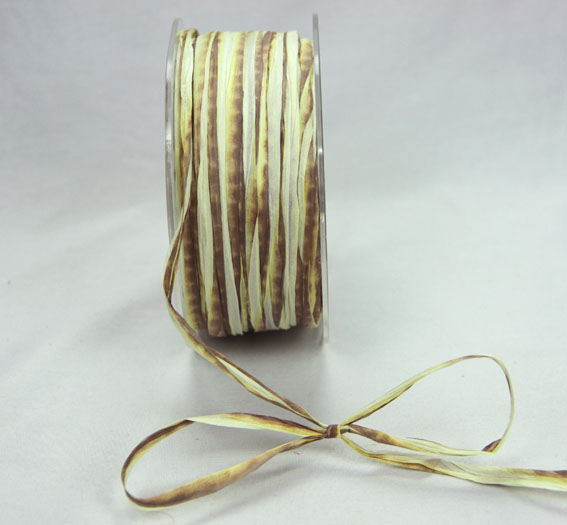 5mm Raffia 100yds (91.5m) roll Natural/Brown