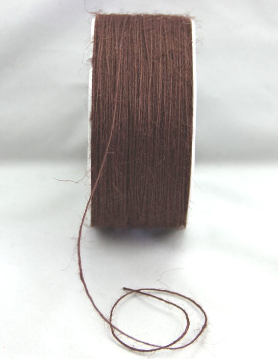 1mm Jute Fibre 200m Dark Brown