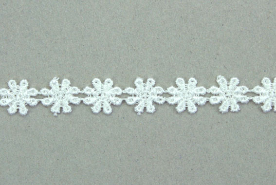 21 Yards Lace, 1.2cm  Off White