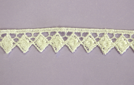 21 Yards Lace, 1.5 cm Off White