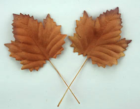 100 Maple Leaves Copper 4.5cm.