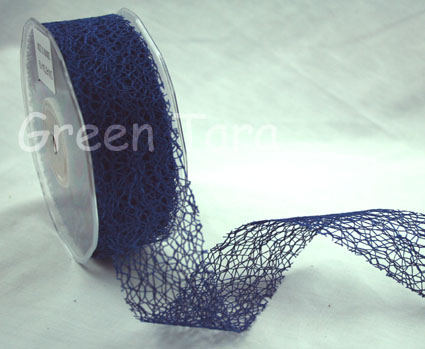 38mm Mesh Navy Blue
