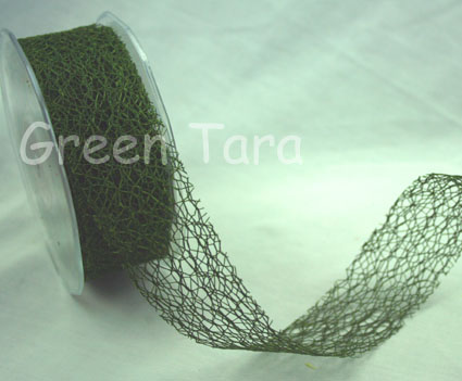 38mm Mesh Olive Green