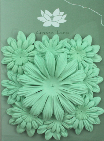 Pack of 22 mixed petals, Baby Blue