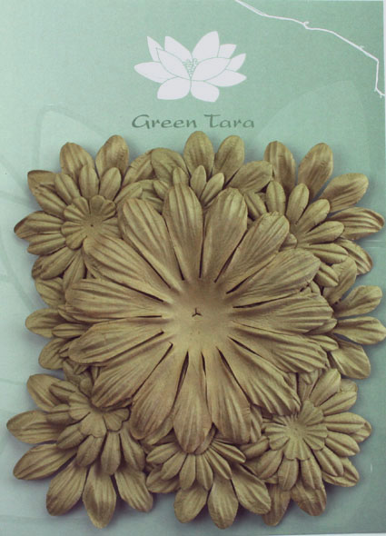Pack of 22 mixed petals, Clay