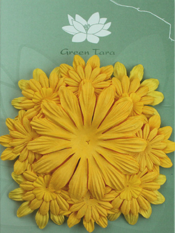 Pack of 22 mixed petals, Daffodil Yellow