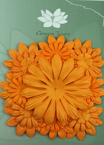 Pack of 22 mixed petals, Gold