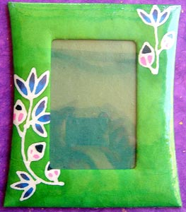 "Mulberry Paper Batik Photo Frame for 6"" x 4"" Photo"