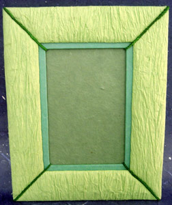Photo Frame String Green