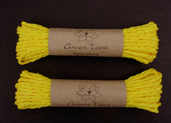 Paper String Yellow