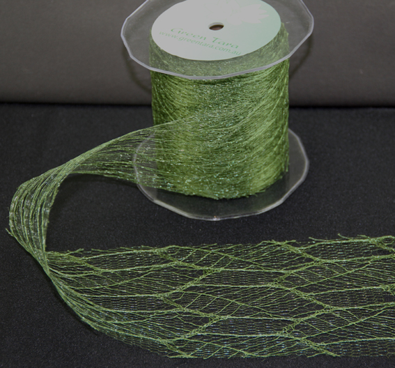 100mm Skeleton Mesh  20m Olive