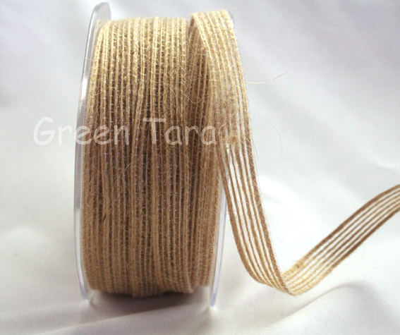 9mm Natural Jute Ribbon  20m