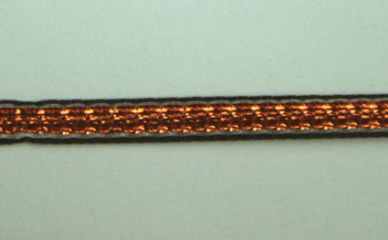 3mm Shimmer ribbon 25m, Copper