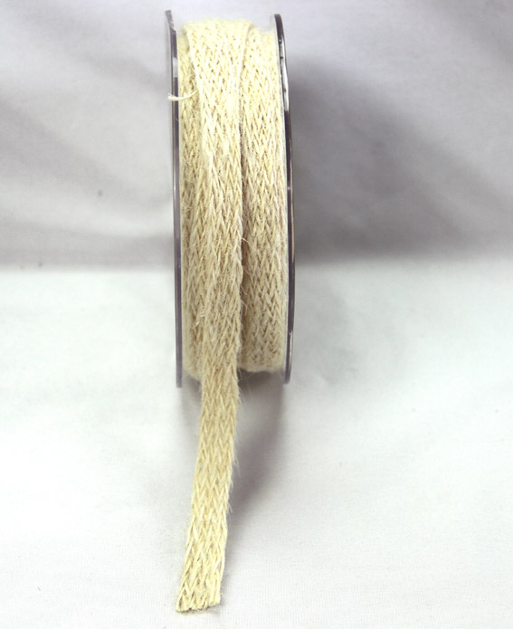 12mm Jute Braid 10m, Ivory