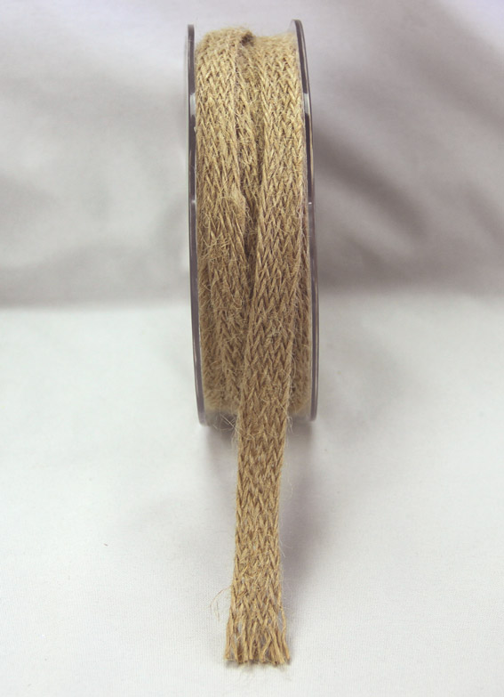 12mm Jute Braid 10m, Natural