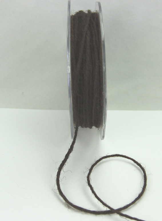 2mm Jute Cord 25m Dark Brown